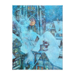 Snow Queen on a Winter's Night Dulac Illustration Gallery Wrap Canvas