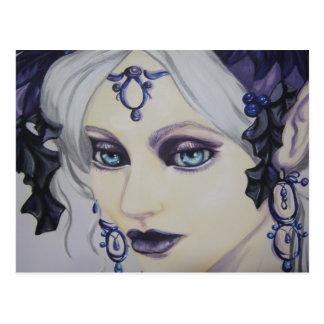 Snow Queen WInter Fantasy Postcard