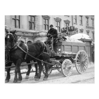 Snow Removal, 1908 Postcard
