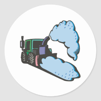 Snow Removal 2 Stickers