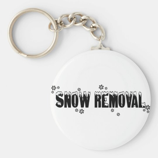 Snow Removal Keychain