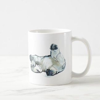 Snow Rub Basic White Mug