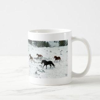 Snow Run Basic White Mug