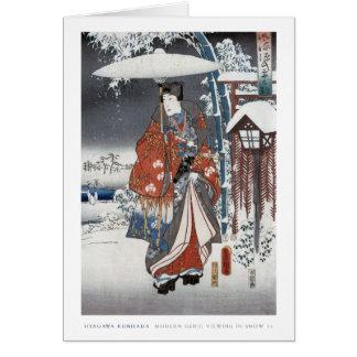 Snow Samurai Card 2