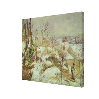 Snow Scene Gallery Wrap Canvas