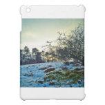 Snow scene case for the iPad mini
