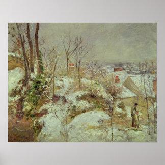Snow Scene Posters
