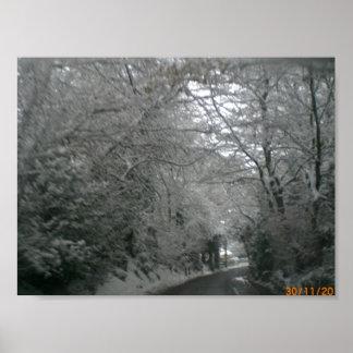 Snow Scene Print