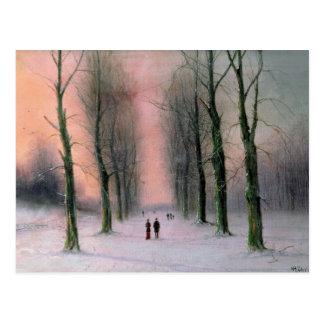Snow Scene-Wanstead Park Postcard