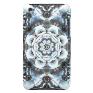 Snow Serenity Mandala Barely There iPod Covers