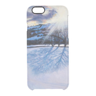 Snow Shadows 2009 Clear iPhone 6/6S Case