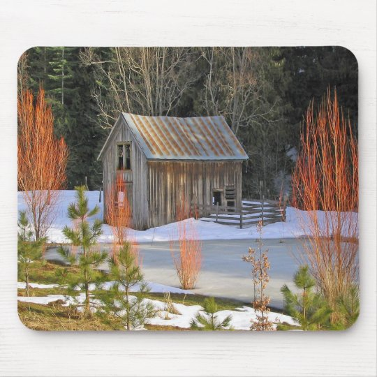 Snow Shed Mousepad