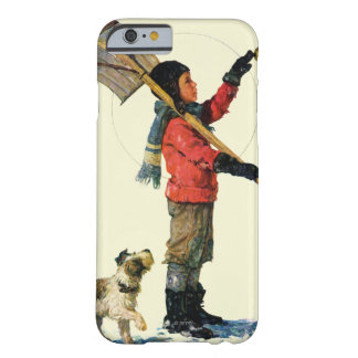 Snow Shoveler Barely There iPhone 6 Case