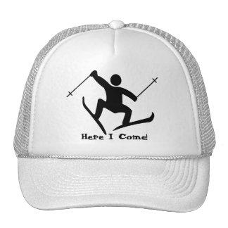 snow ski cap