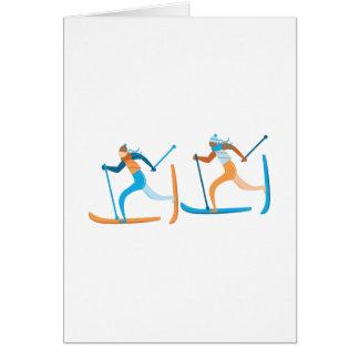 Snow Ski Card