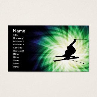 Snow Ski Gift Business Card