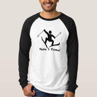 snow ski t-shirts