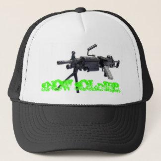Snow Soldier Trucker Hat