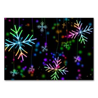 Snow Star Card