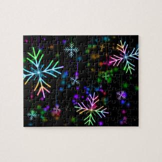 Snow Star Jigsaw Puzzle