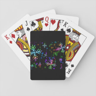 Snow Star Playing Cards