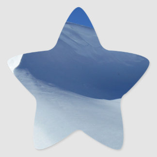 Snow Star Sticker