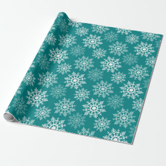 Snow Stars - Holidayz - Wrapping Paper