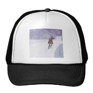 Snow Storm Art Cap