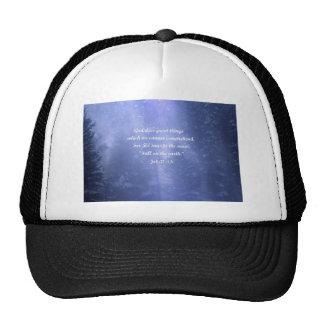 Snow Storm Mesh Hats