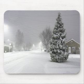 Snow Storm Mousemat