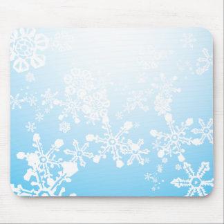 Snow Storm Mousepad