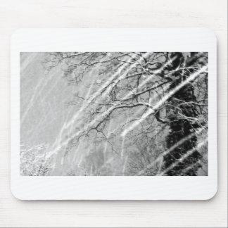 snow trails mouse mat