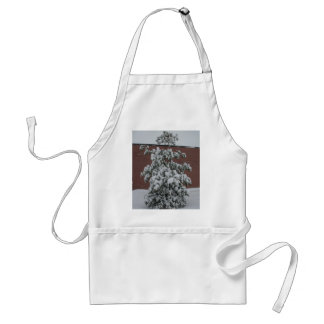 SNOW TREE ladys apron