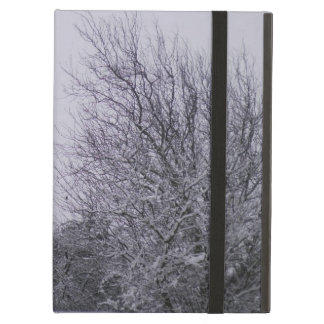 Snow Tree Landscape Winter iPad Case