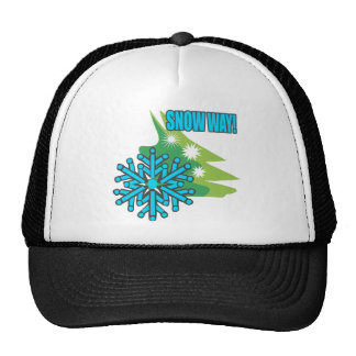 Snow Way Snowflake Cap