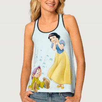 Snow White and Dopey Bubbles Tank Top