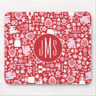 Snow White and Friends Pattern | Monogram Mouse Mat