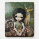 Snow White and Her Animal Friends Mousepad