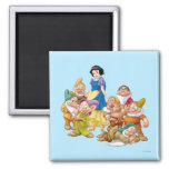 Snow White and the Seven Dwarfs 2 Magnets