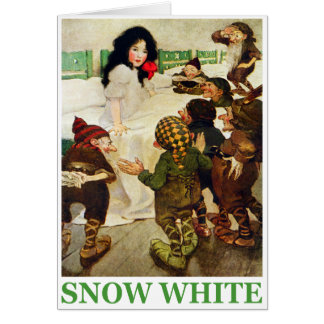 Snow White and the Seven Dwarfs Greeting Card