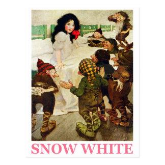 Snow White and The Seven Dwarfs Postcard