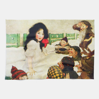 Snow White and the Seven Dwarves Tea Towel