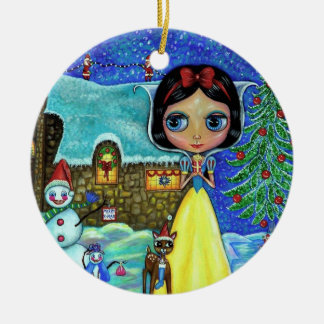 Snow White Christmas Ornament