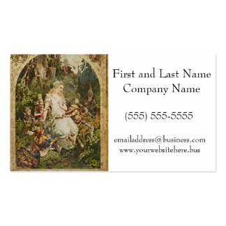 Snow White German Fairy Tale Illustration Pack Of Standard Business Cards