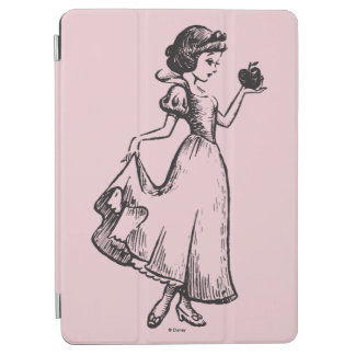 Snow White | Holding Apple - Elegant Sketch iPad Air Cover