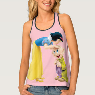 Snow White Kissing Dopey on the Head Tank Top