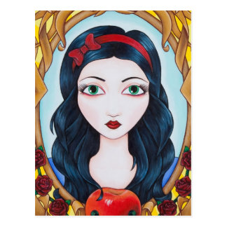 Snow White Postcard