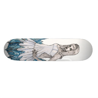 Snow White Queen 19.7 Cm Skateboard Deck