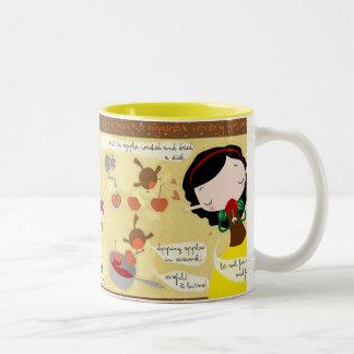 Snow white recipe Mug