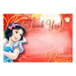 Snow White Thank You Cards Invites